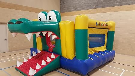 Crocodile Themed Bouncy Castle