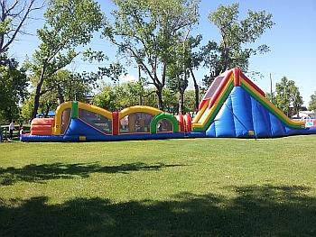 Huge Inflatable Obstacle Course