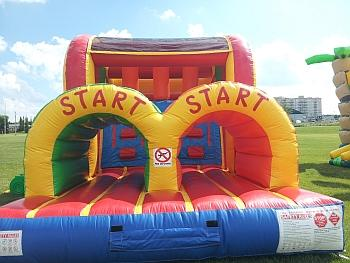 Inflatable Obstacle Course Entrance