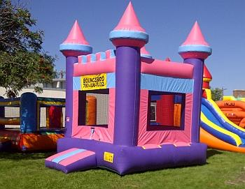 Pink Princess Theme Bouncy Castle