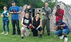 Tactical 8 Player Laser Tag Pkg