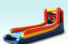 Inflatable Skeeball Game