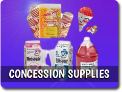 Additional Concession Supplies