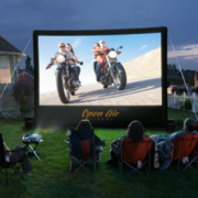 INFLATABLE MOVIE SCREEN THEATER SYSTEM