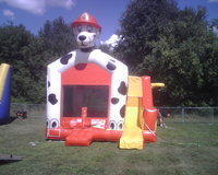 Dalmation Bouncer/Slide