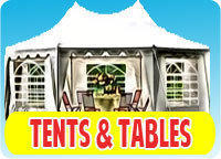 Tent ,Tables and Chairs