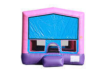 BT-BOU-0-100 - Pink & Purple Fun House Bounce House 13' X 13'