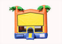 BT-BOU-0-113 - Palm Bounce House 13' X 13'