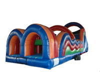 BT-OBS-60 - 60' Long Obstacle Course Water Slide Wet