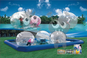 BT-SPOHSP2525 - Water Ball Arena 25' Square with 6 balls Fully Staffed