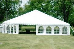 BT-EQP-TT-TNT - 20x20 White Pole Tent 400sqft