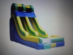 16ft Dry Slide Party Package