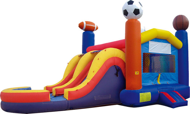 Sport Combo Bouncer with Slide