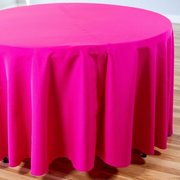 "Fuchsia Round Table Cloth 120"" - (60"" Round Tables)"
