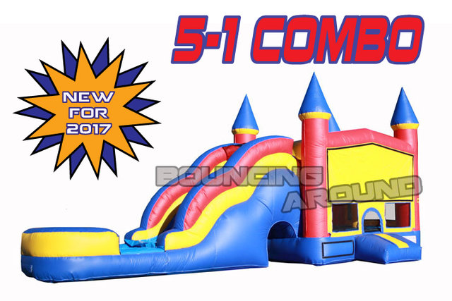 Combo 5-1 with Waterslide