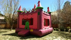 XL Purple Castle Bounce House