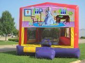 Barbie Bounce House Primary Colors