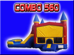 Combo 560 with Waterslide
