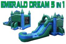 Emerald Dream 5 in1 with Waterslide