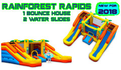 Rain Forest Combo with Waterslides