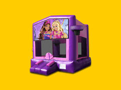 Barbie Bounce House Pink Modular