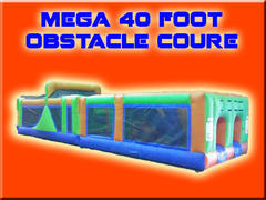 Mega 40 Foot Obstacle Course