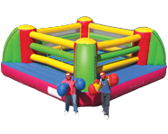 Bouncing Buddies Giant Gloved Boxing Ring