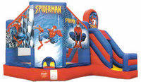 Bouncing Buddies Spiderman Bounce House
