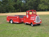Bouncing Buddies Trackless Fire Truck