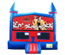 Dalmations 101 Bounce House with Basketball Goal