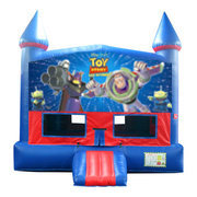 Toy Story Bounce House with Basketball Goal