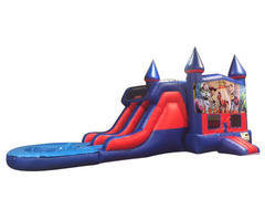 Toy Story  Double Lane Waterslide Bounce House