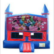 Minnie Mouse Bounce House with Basketball Goal