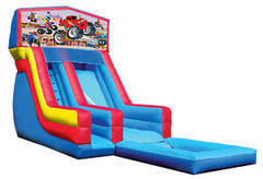 Monster Truck Panel Water Slide