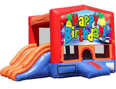 4-in-1 Combo with Double Slides - Happy Birthday (Dry)