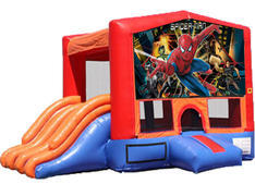 4-in-1 Combo with Double Slides - Spiderman (Dry)