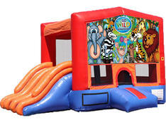 4-in-1 Combo with Double Slides - Wild Kingdom (Dry)
