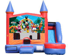 6-in-1 Castle Combo with Slide - Mickey & Friends (Dry)