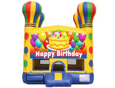 Balloon Bounce House - Birthday Cake