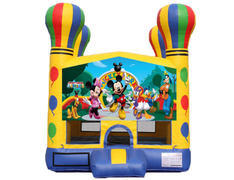 Balloon Bounce House - Mickey & Friends