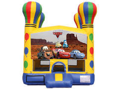 Balloon Bounce House - Cars