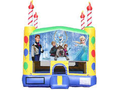 Candle Bounce House - Frozen 2