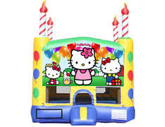 Candle Bounce House - Hello Kitty