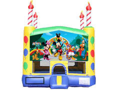 Candle Bounce House - Mickey & Friends