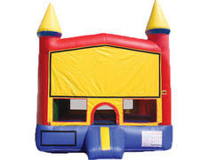 Red & Yellow Castle Bounce House