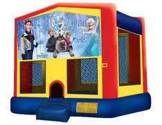 Yellow, Red & Blue Bounce House - Frozen 2