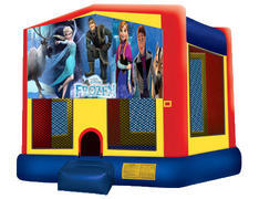Yellow, Red & Blue Bounce House - Frozen