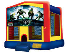 Yellow, Red & Blue Bounce House - TMNT