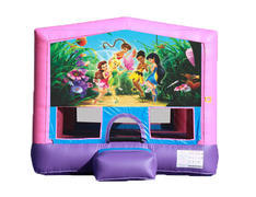 Pink & Purple Bounce House - Tinker Bell