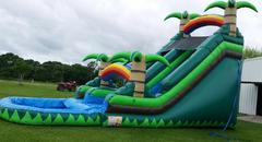 19' Tropical Water Slide